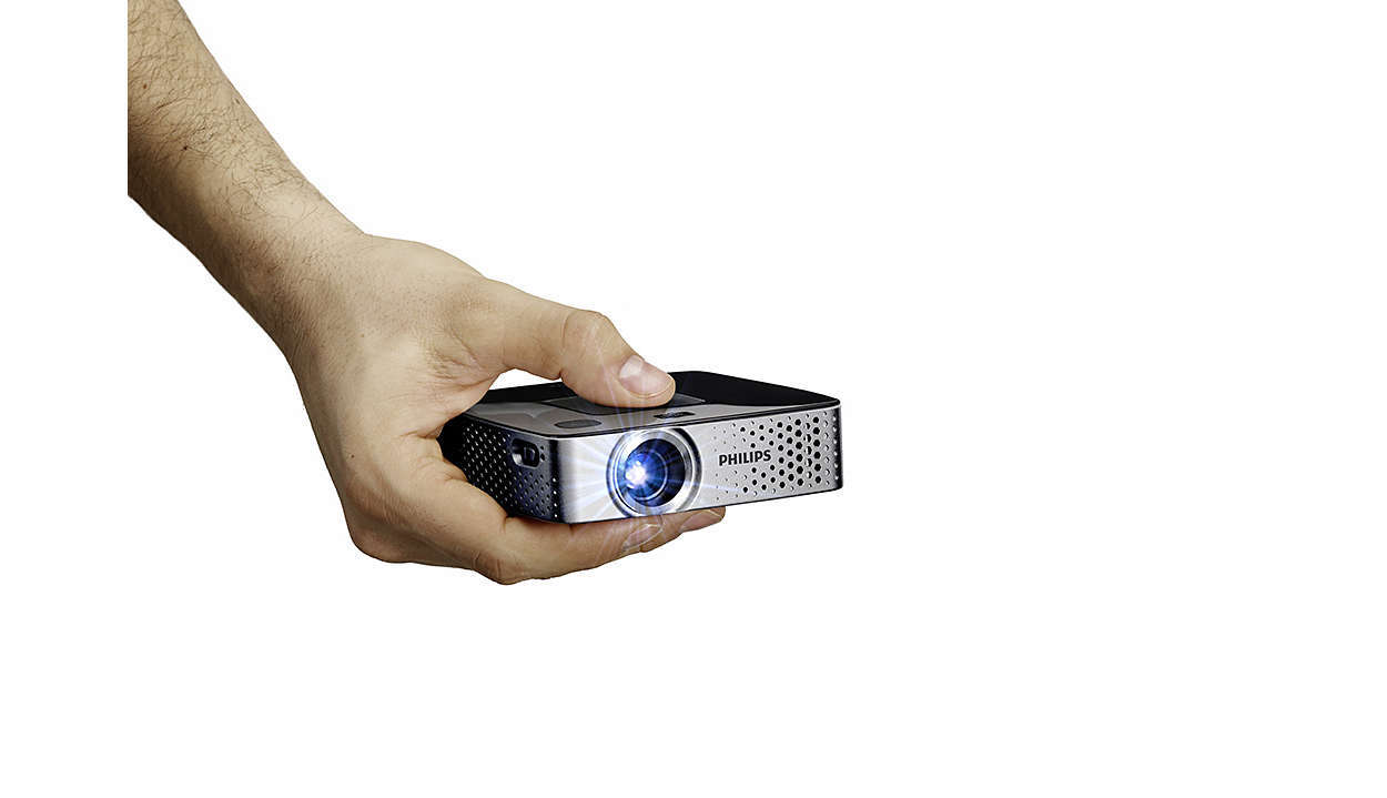 Philips picopix ppx3417w super pocket smart projector for Smart pocket projector