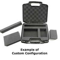 Portable Projector Hard Case with Diced Foam