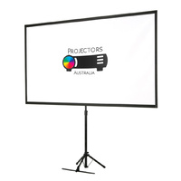 Projector Portable Tripod Screen 80""